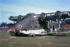The wreckage of an Gigant, with the engines removed at Gardelegen.Written on slide casing: 'Gardelegen, Germn, April Ww2 Aircraft, Fighter Aircraft, Military Aircraft, Fighter Jets, Luftwaffe, Force Pictures, Navy Carriers, Ah 64 Apache, Vintage Airplanes