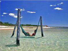 Ocean Hammock, Jericoacora, Brazil
