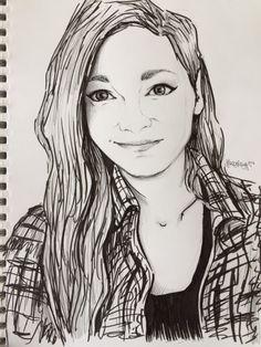 Portrait by princesszoggles @Artdancegirl14  Tell me what you think!
