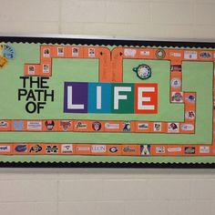 Career and college bulletin board