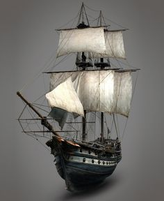 Assassin's Creed III Art & Pictures Aquila Ship