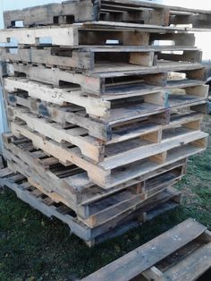Pallet Shed Using Pallets, Old Windows & Tin Cans - It's been a long journey and a learning lesson from the first pallet to the last. My pallet shed is finally…