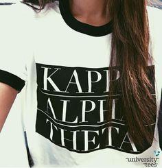 There's never a bad day to Think #Theta #KAO #KappaAlphaTheta #Sorority | Made by University Tees | www.universitytees.com