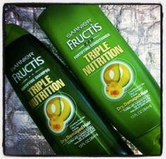 Free Garnier Triple Nutrition Shampoo & Conditioner