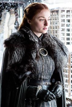 "Sansa Stark in Game of Thrones' 7.06 ""Beyond the Wall"""