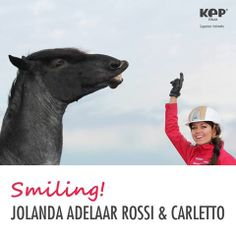 Jolanda Adelaar & the 4 years old Carletto, playing together!