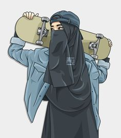 Muslim Fashion 666673551080351017 - Muslim Couples 645281452843821902 Source by tamrarachal Arte Dope, Dope Art, Art Anime Fille, Anime Art Girl, Cartoon Kunst, Cartoon Art, Character Inspiration, Character Art, Hijab Drawing