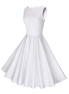fa16f288dc5b Amazon.com  GownTown Womens Dresses Party Dresses 1950s Vintage ...