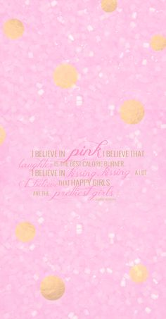Pink gold spots Audrey Quote iphone wallpaper phone background lock screen