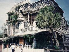 Old House at Miracle Strip Amusement Park, Panama City Beach, Florida