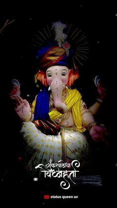 sukh harta vighn harta  happy Ganesh chaturthi  new trending whatsapp status 👣�💗�🥰