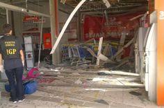 Blog do Diogenes Bandeira: Bandidos explodem caixa eletrônico em Barra Velha ...