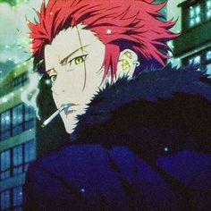 Black Cartoon Characters, Anime Characters, Reno Final Fantasy, Suoh Mikoto, Anime Bebe, Flash Art, Hot Anime Guys, Batman Comics, One Piece Manga