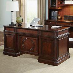 Brayton Junior Executive Desk // #Traditional styling