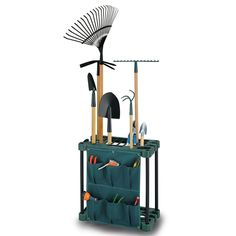 Garden Tool Storage Organiser Rack - KCT: Amazon.co.uk: Garden & Outdoors
