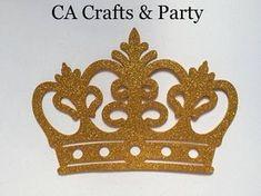Espuma de oro de la corona de príncipe 10 piezas corona