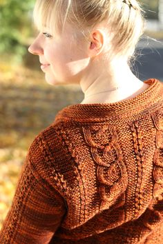 My own pic. It has good light and it shows the texture of the knit well.
