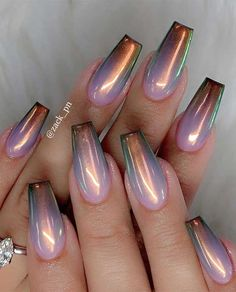 Try These Fashionable Nail Ideas That'll Boost Your Fall Mood 49 nail art designs that perfect for fall and winter, coffin nail art designs,almond nail art design, acrylic nail art, nail designs with glitter fall nail art designs Fall Nail Art Designs, Pretty Nail Designs, Acrylic Nail Designs, Unique Nail Designs, Chrome Nails Designs, Acrylic Colors, Crome Nails, Nail Design Glitter, Almond Nail Art