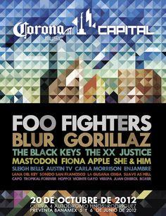 Festival Corona Capital 2012 y sus posibilidades - Chilanga Banda #Mexico