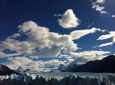 Cielo Glaciar Perito Moreno