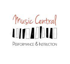 Musique, musicien Logo, Logo de la leçon de Piano, Logo, création de Logo prédéfinis personnalisables