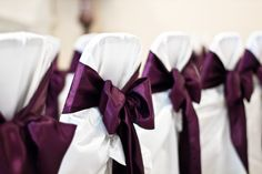 purple and gray reception pictures | ... at 1440 × 960 in Eggplant-purple and light grey wedding inspiration