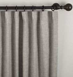 """Dress up any dormer, bay, or picture window with our Linen/Cotton Drapery Panel. Durable and lightweight, these window treatments are constructed from a linen/cotton mix and feature multiple hanging options. With the ability to hang from the pole pocket or convert to a ring-top style, they also offer concealed fabric loops for a more tailored look in any space.  * Available in 50"""" x 84"""", 50"""" x 96"""" and 50"""" x 108"""" * Linen/cotton blend available in Ivory, Oat, Gray, and White * Sold as…"""