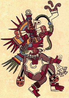 """QUETZALCÓATL (""""feathered serpent"""") 