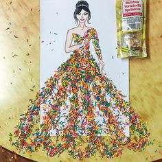 Gorgeous Princess Dresses by Laurence Aquino.|FunPalStudio| Art Artist Artwok Entertainment fashion instagram Creativity
