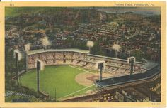 Forbes Field at Night