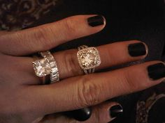 giuliana rancics ring on top but i love the bottom ring wedding band - Giuliana Rancic Wedding Ring