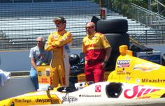 Ryan Hunter Reay at the Indy 500