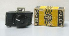 Vintage Bakelite Art Deco Kodak Bullet Camera for 127 Film with Original Box and…