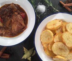 Στιφάδο Food Categories, Mediterranean Recipes, Greek Recipes, Pot Roast, Steak, Dinner Recipes, Beef, Snacks, Cooking