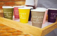 Identity for Gather & Gather. Great Color Palette!!!
