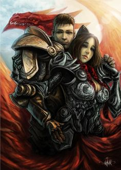 Alistair and the Grey warden