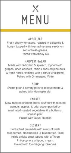 wine dinner menu template - menu template for valentines day eventful pinterest