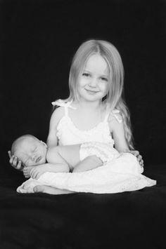 Big sister and new baby