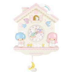 Sanrio Wall Clocks - Little Twin Stars