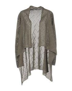 BRUNO MANETTI Women's Cardigan Grey 4 US