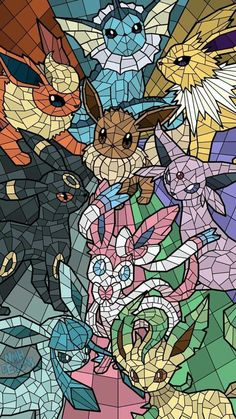 The Eeveelutions! (OC) : pokemon - The Eeveelutions! (OC) : pokemon You are in the right place about diy Here we offer you the most be - Pokemon Backgrounds, Cool Pokemon Wallpapers, Cute Wallpapers, Eevee Wallpaper, Cute Pokemon Wallpaper, Pikachu Art, Pokemon Fan Art, Pokemon Oc, Nintendo Pokemon