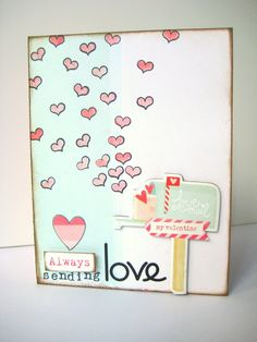 My Creative Scrapbook DT Project - February Main Kit - Crate Paper Love Notes