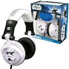 Stormtrooper DJ Stereo Headphones $49.99