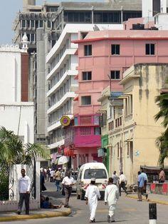 Streets of Mombasa - Mombasa, Coast Kenya