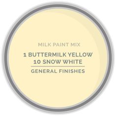Achieve this Custom Color Milk Paint Mix by mixing 1 part GF Antique White Milk Paint with 1 part Snow White Milk Paint Interior Paint Colors, Paint Colors For Home, Shabby Chic Headboard, Java Gel Stains, Painted Cupboards, Paint Color Schemes, General Finishes, Exterior House Colors, Yellow Painting