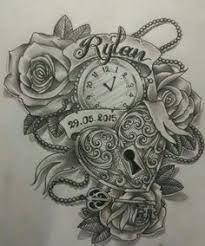 Resultado de imagen de rose watch tattoo