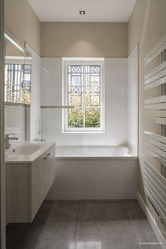 Bathroom Interior, Bathroom Ideas, Alcove, My House, Bathrooms, Sweet Home, Bathtub, Design, Houses