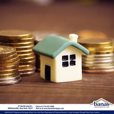 Buying a home is an investment in your future and in your community! Give us a call to learn more today!   #BanasMortgage #Investment