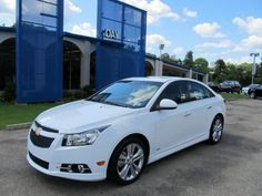 My new car! 2012 Chevy Cruze RS All-Star Edition. Looking forward to the turbocharged engine and sunroof!