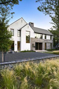 Caruth park exterior colors, exterior design, new home designs, cozy house, Modern Farmhouse Exterior, Industrial Farmhouse, Architecture Details, Modern Architecture, Future House, My House, Dream House Exterior, Facade House, House Goals